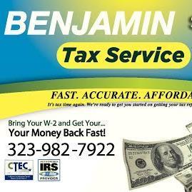Benjamin Tax Service Long Beach Ca