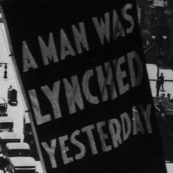 A Man Lynched Today