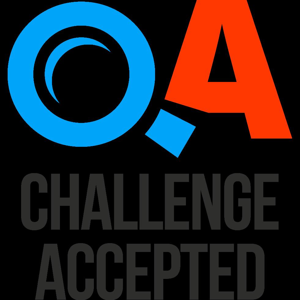 qa challengeaccepted qachallenge twitter
