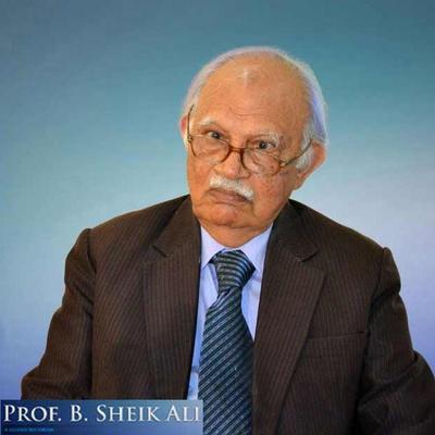Prof. B. Sheik Ali