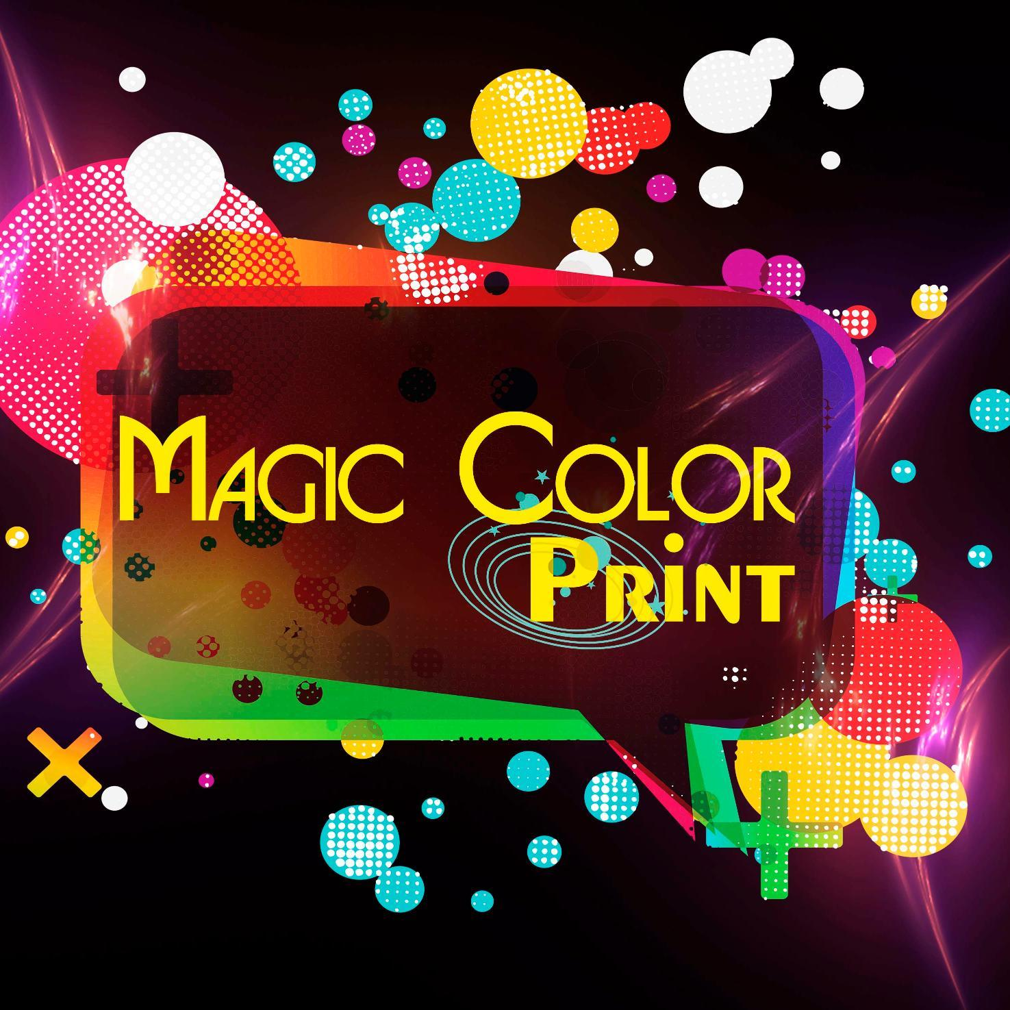magic color print