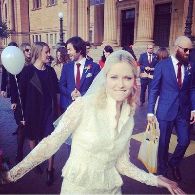 Georgina haig wedding
