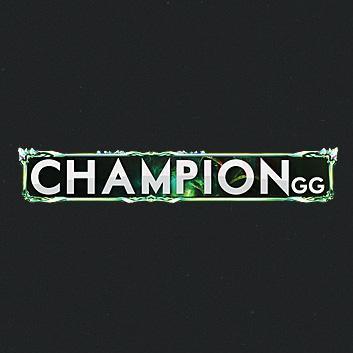gedachten over officiële site goedkoper ChampionGG on Twitter: