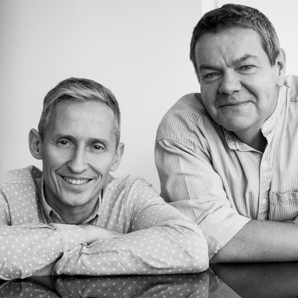 Multi award-winning writers George Stiles & Anthony Drewe. Scores include: Identical, Becoming Nancy, Mary Poppins, Half A Sixpence, Wind in the Willows, Honk