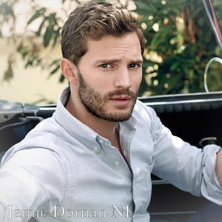 Jamie Dornan  - 2018 Light brown hair & chic hair style.