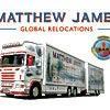Logo de la société Matthew James Removals & Storage