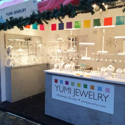 """Yumi Jewelry on Twitter: """"Join YUMI CHEN Jewelry TODAY at the Rhode Island Flower Show in Providence, RI. Booth # 510 :)"""""""