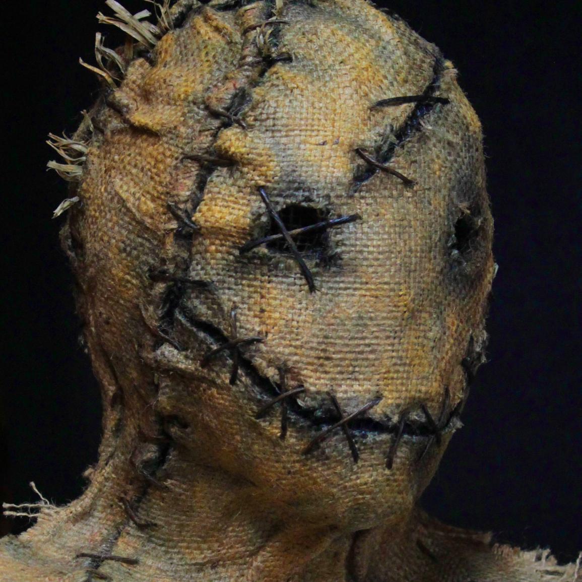 Grim Stitch Factory Twitter Taxidermy Scarecrow Boar