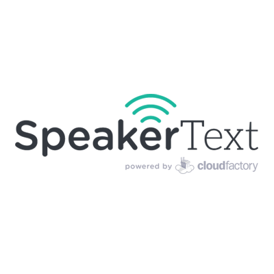 @SpeakerText