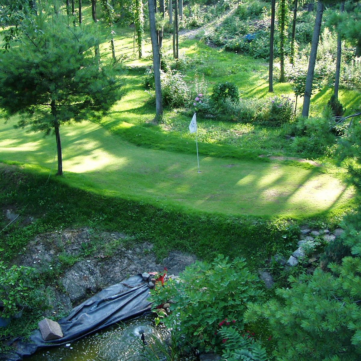 backyard golf course backyardgolf59 twitter