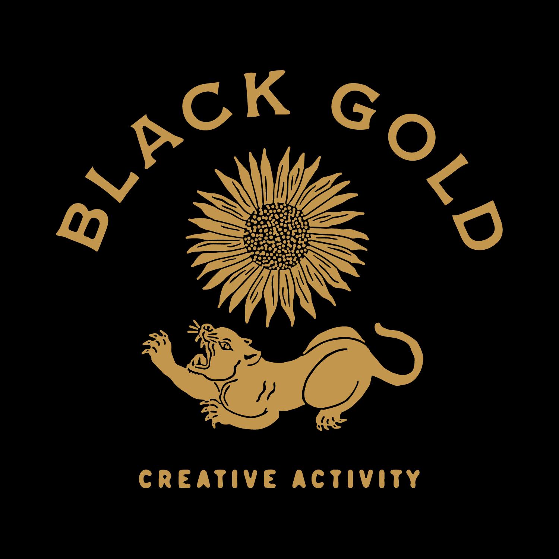 Black gold&silver sequin dress