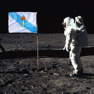 Resultado de imagen para galegos na lua