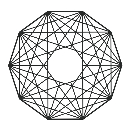 Decagon studio decagonstudio twitter - What is the exterior angle of a decagon ...