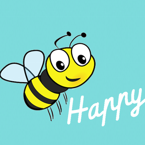 Image result for bee happy