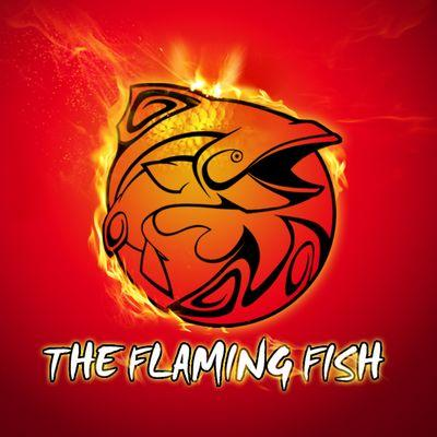 The flaming fish flaminfishtruck twitter for Flaming fish food truck