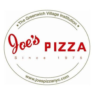 Joe's Pizza NYC (@Joespizzanyc) Twitter profile photo