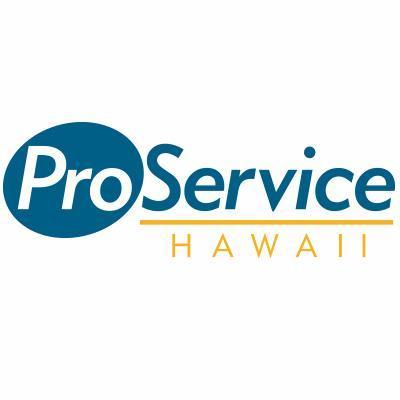 ProService Hawaii ProServiceHI Twitter - Proservice hawaii