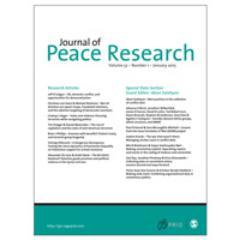 journal of peace research 708 journal of peace research volume 46 / number 5 / september 2009 the data project described in this article develops a rigorous, generalizable measure of the effectiveness of military force as a policy.