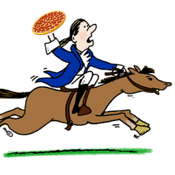 paul revere pizza co paulrevereco twitter rh twitter com paul revere clipart free Paul Revere Pictures of Him