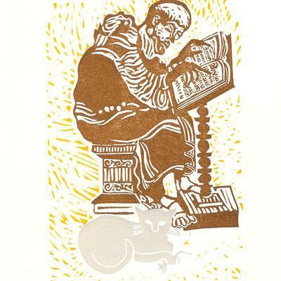 Pangur & The Scribe