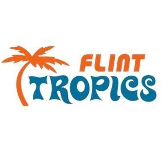 "Flint Tropics Retro"" Stickers by johnbjwilson | Redbubble"