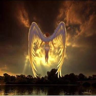 angel flying up to heaven - photo #24