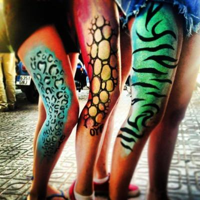 Zoo Body Art Magaluf On Twitter Previews Of What We Do Zebra Leopard Tiger Any Colour Of Your Choice Also Have Neon Sparkles And Diamonds Http T Co Lzm7eill4l