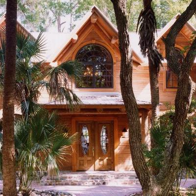 Bk Cypress Log Homes