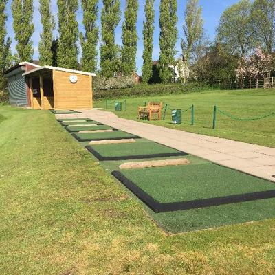 antiskid driving turf practice golf training pratical mats x range all nylon aid chipping mat