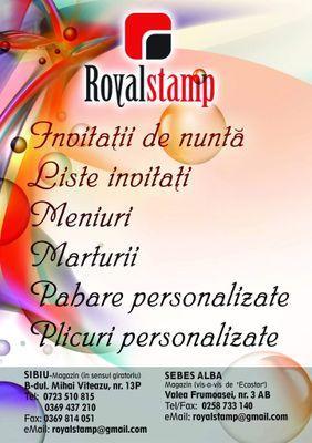 Royal Stamp At Royalstampsibiu Twitter