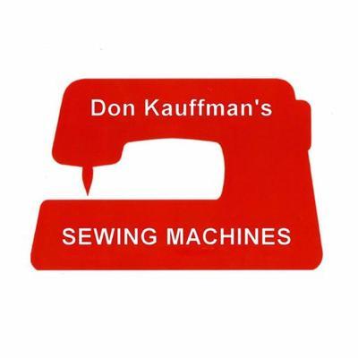 Don Kauffman Sewing DonKauffmanPA Twitter Adorable Don Kauffman's Sewing Machines