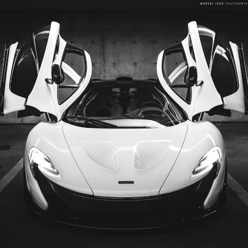mclaren p1 black and white. marcel lech mclaren p1 black and white o