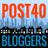 Post-40 Bloggers