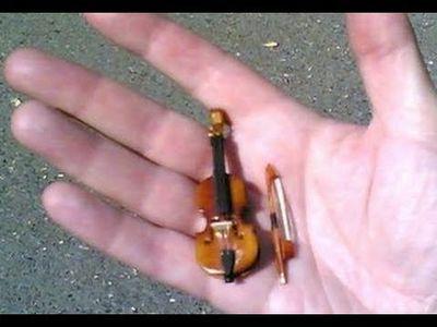 world tiniest violin tinyviolen twitter