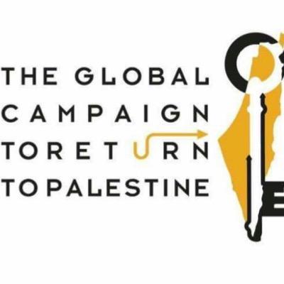 Afbeeldingsresultaat voor global return of palestine logo