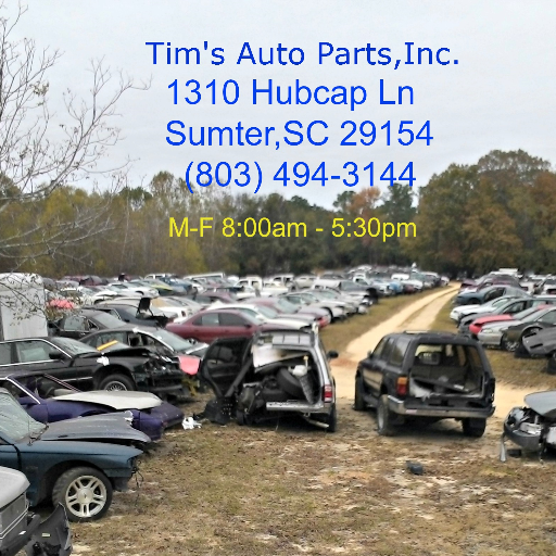 Car Dealerships In Sumter Sc >> Tim S Auto Parts Tims Auto Parts Twitter