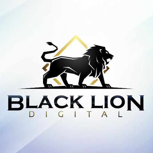 Black lion logo - photo#11