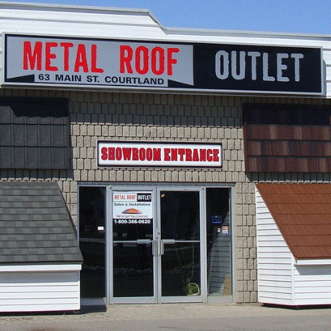 Metal Roof Outlet