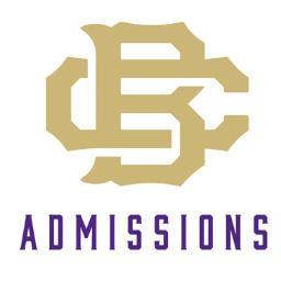 CBHS Admissions
