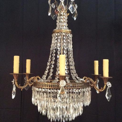 Arts Crafts 4 Light Pendant