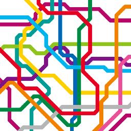 路線図職人 豊科穂 一方 そういうことを考えずに11本もの線を平行させた上に 停車駅より接続駅 のほうを目立たせるという優先度を間違えたデザインで停車駅が把握しづらく もう見る気もしないほどひどい図に仕上げた東武鉄道の公式路線図も反面教師として