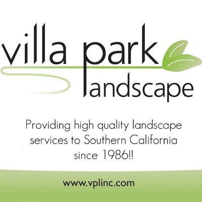 Villa Park Landscape Logo