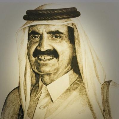 حمد بن خليفة آل ثاني Althani H1 Twitter