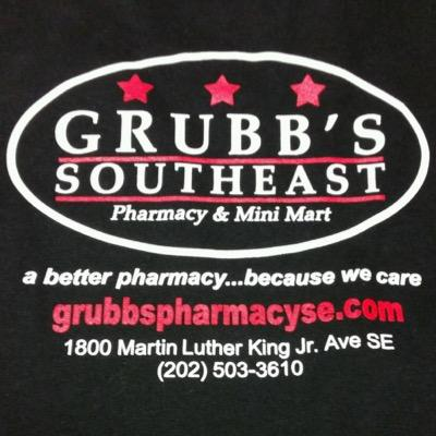 logo for Grubb's Southeast Pharmacy & Mini Mart