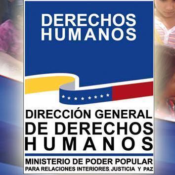 Derechos humanos dgddhhmiranda twitter Intranet ministerio de interior y justicia