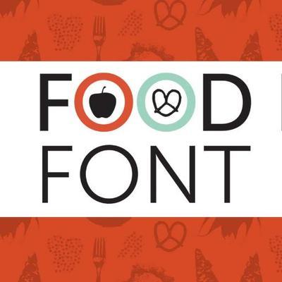 Food font foodfont twitter for Cuisine font