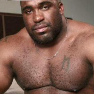 Big boob man sucking