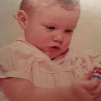 Me, as a baby  Val E