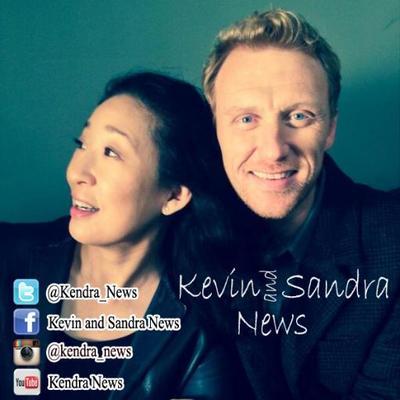 Greys Anatomy Sandra Oh and Kevin McKidd reunite  EWcom