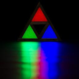 The Triforce Lamp
